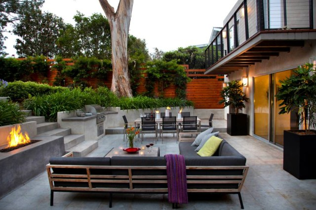 25 Concrete Patio Outdoor Designs Decorating Ideas