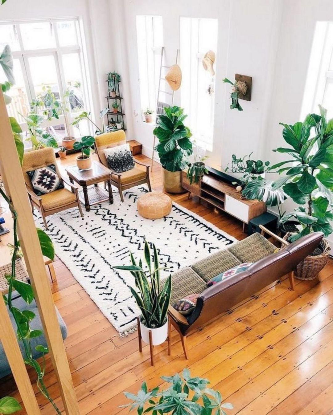 25 Fantastic Bohemian Living Room Decoration Ideas For You