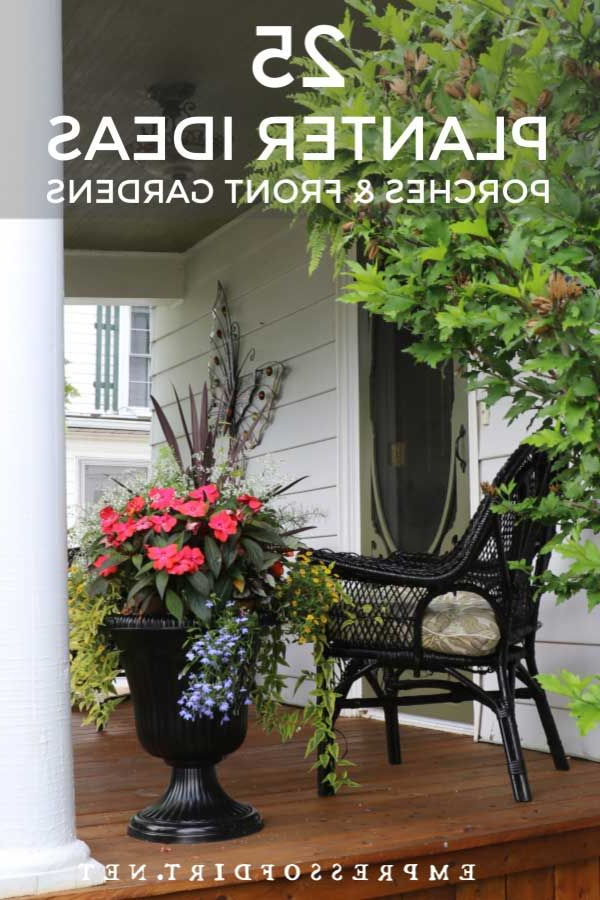 25 Planter Ideas For Porches And Front Gardens Flower