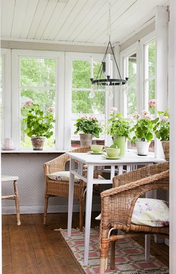 25 Stunning White Sunroom Ideas Sunroom Decorating