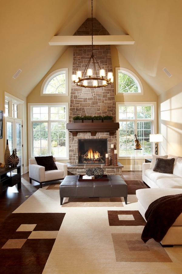 25 Warm Living Room Design Ideas For Comfortable Feel