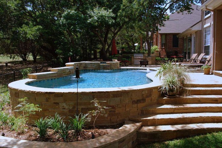 27 Best Small Inground Pool Ideas In 2019 Pools Backyard