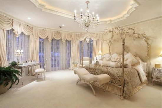 27 Luxury French Provincial Bedrooms Design Ideas