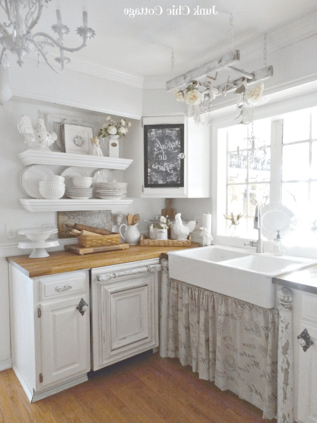 29 Best Shab Chic Kitchen Decor Ideas And Designs For 2020