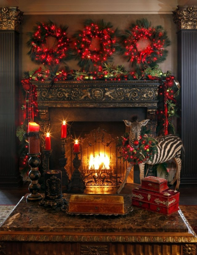 30 Amazing Fireplace Mantel Decor For Christmas Ideas