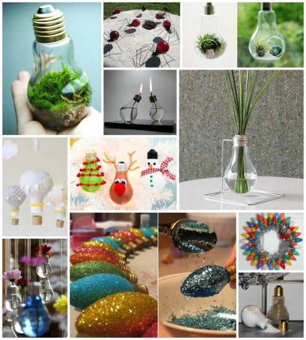 30 Beautiful Diy Ways To Upcycle Lightbulbs Light Bulb