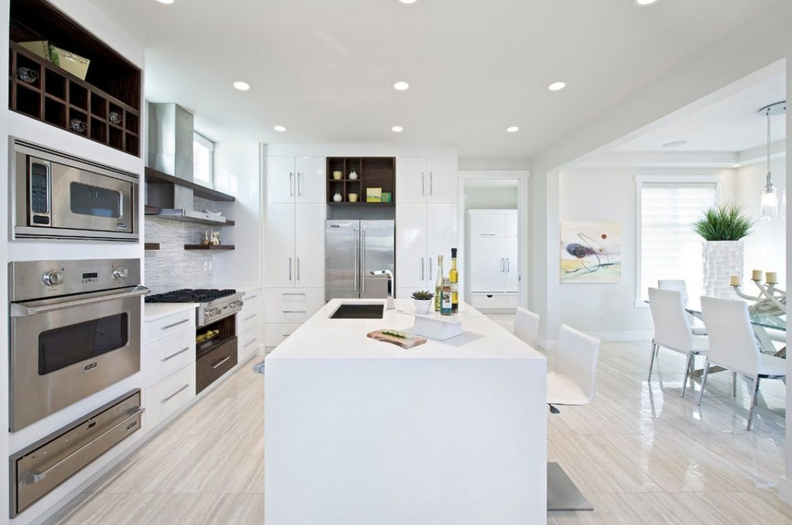 30 Contemporary White Kitchens Ideas Contemporary