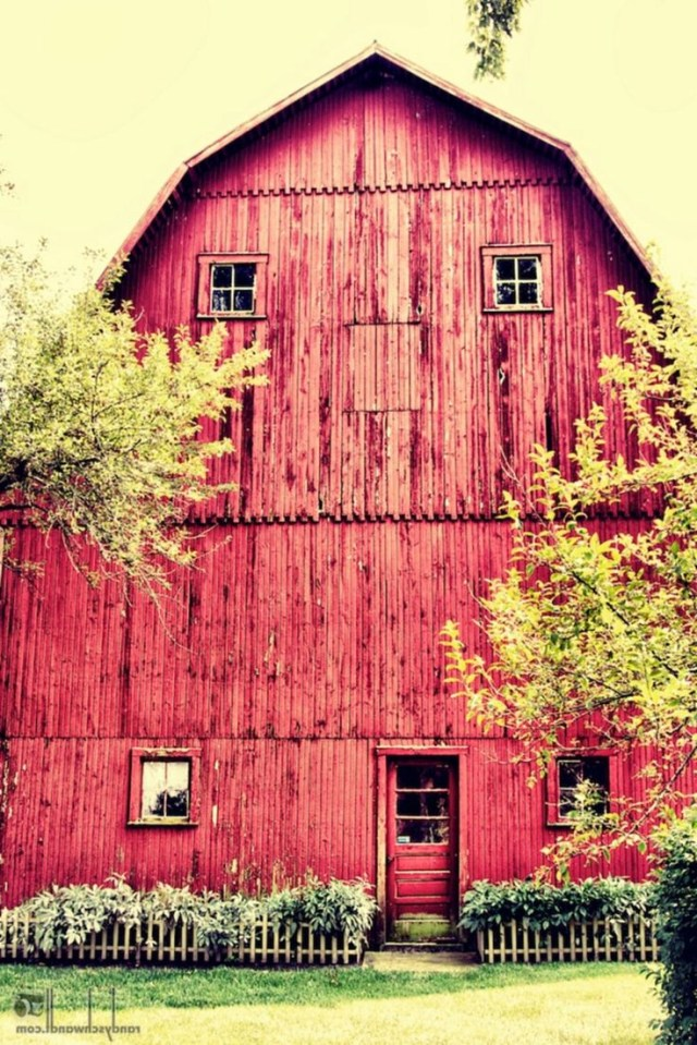 30 Fantastic Red Barn Building Ideas For Inspire You Old