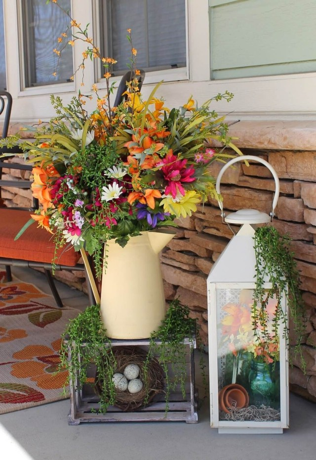 30 Rustic Spring Porch Decor Ideas To Help You Get Your