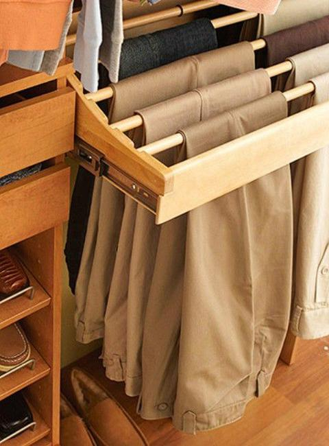 30 Smart Storage Ideas To Improve Closet Organization And