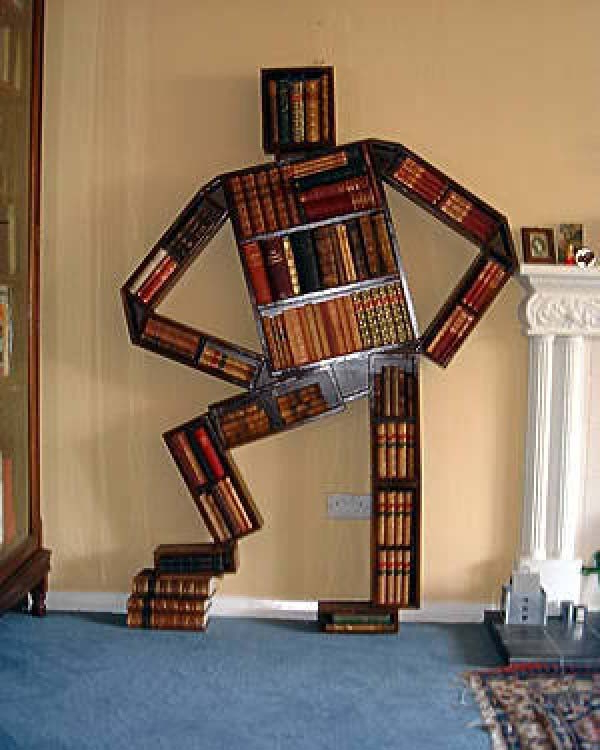 30 Unique Book Shelves And Shelving Units Creative Home