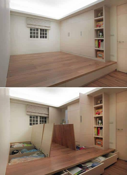 30 Unique Storage Ideas For Small Spaces Diy Cozy Home