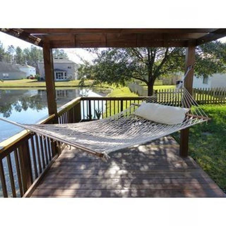 30 Wonderful Backyard Hammock Ideas For Relaxation With