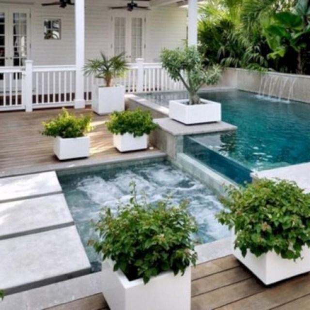 30 Wonderful Small Backyard With Small Swimming Pool