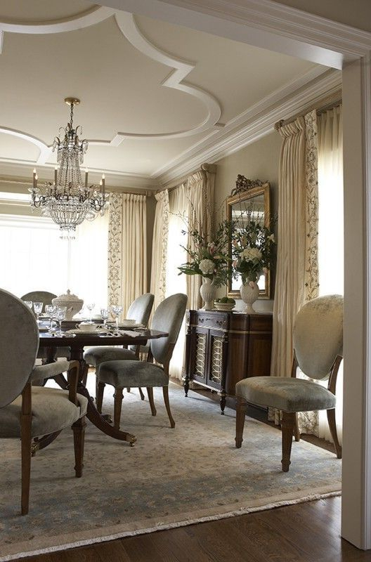 31 Epic Gypsum Ceiling Designs For Your Home Classic Dining Room Traditional Dining Rooms