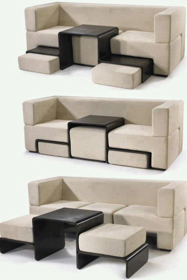 35 Creative Multifunctional Furniture Space Saving Ideas
