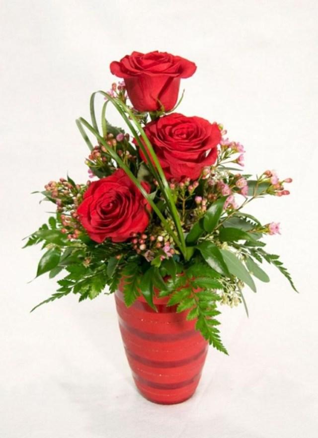 35 Enchanting Valentine Floral Arrangements Ideas For Your