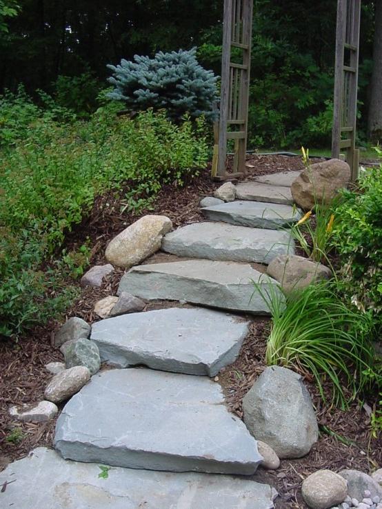 37 Mesmerizing Garden Stone Path Ideas Godfather Style