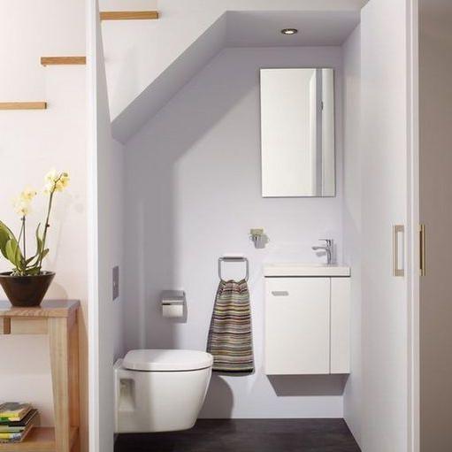 37 That Will Motivate You Half Bathroom Designs