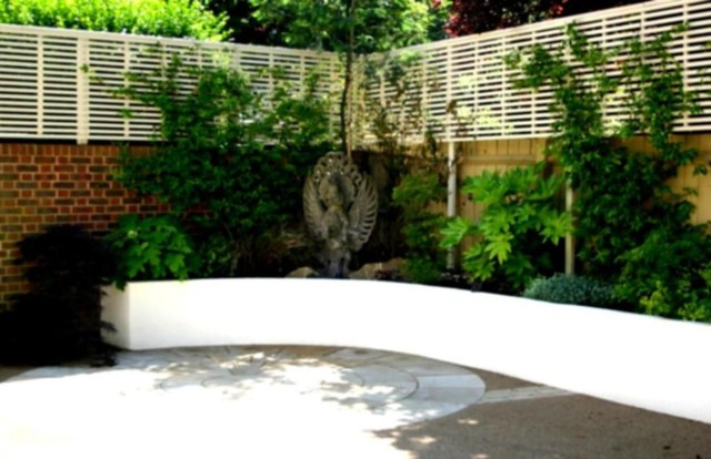 38 Attractive Patio Decorating Ideas On A Budget Garden Design Small Garden Plans Rock
