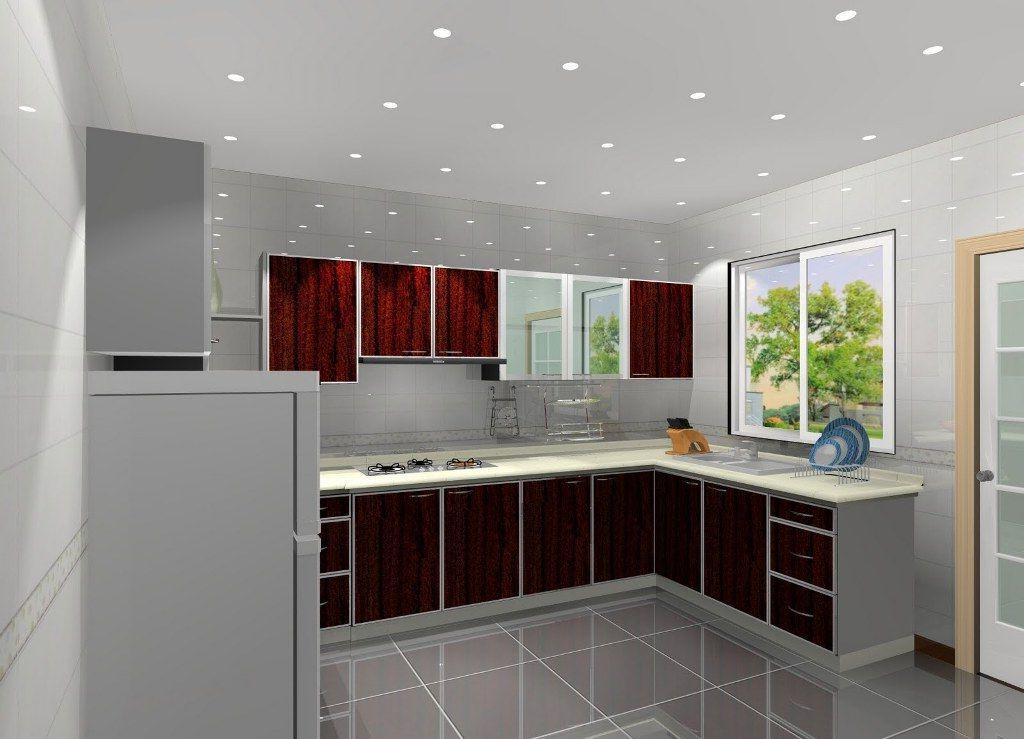 3d Home Architect Kitchen Bath Design Simple Kitchen