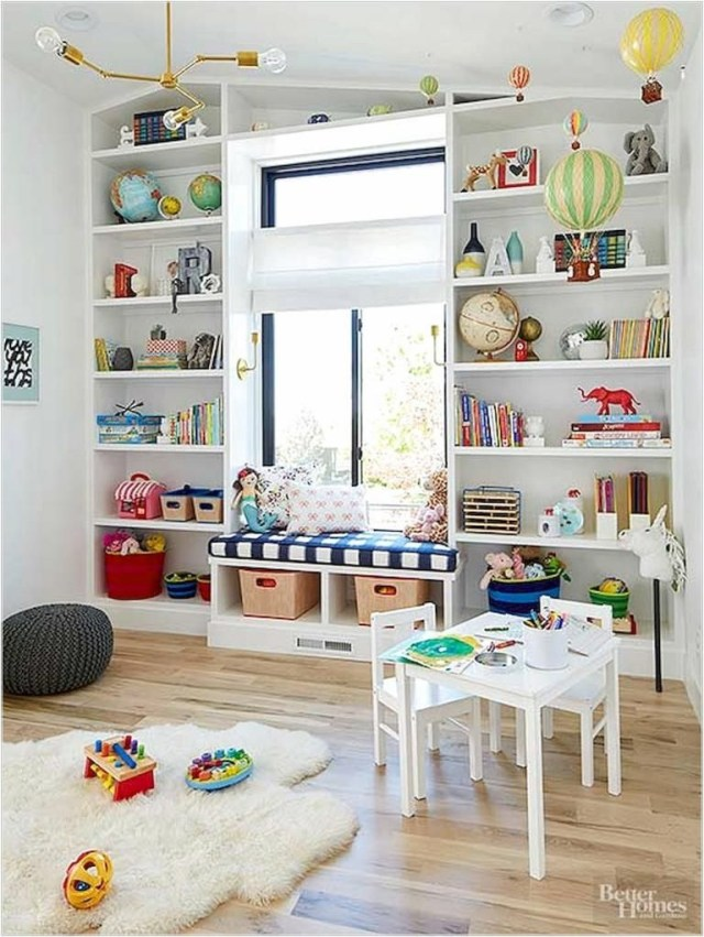 40 Beautiful Kids Playroom Design Decor Ideas Playroom