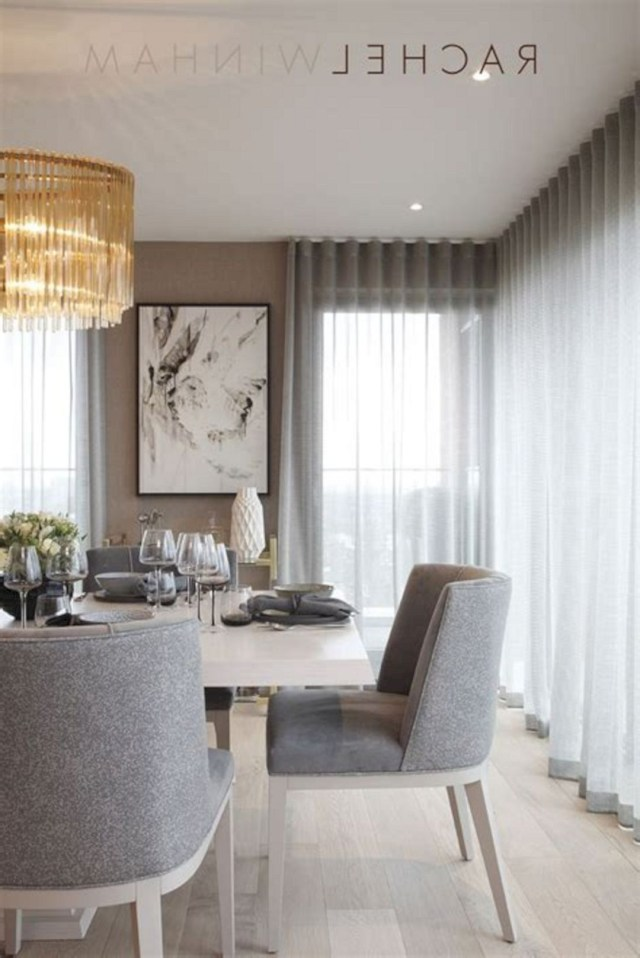 40 Beautiful Modern Curtain Design To Make Scenery Your