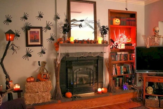 40 Best Living Room Decorations Ideas For Halloween