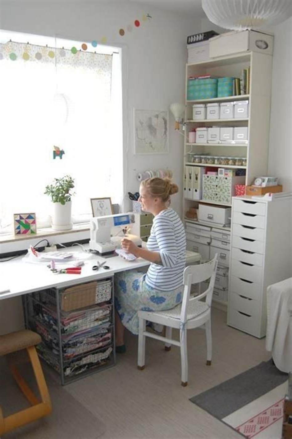 40 Best Small Craft Room And Sewing Room Design Ideas On