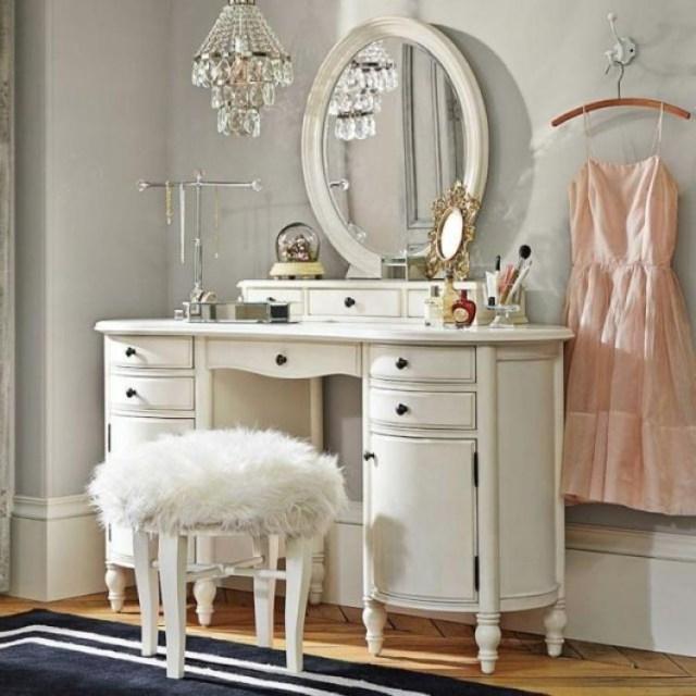 40 Creative Diy Makeup Vanity Design Ideas Page 27 Of 40
