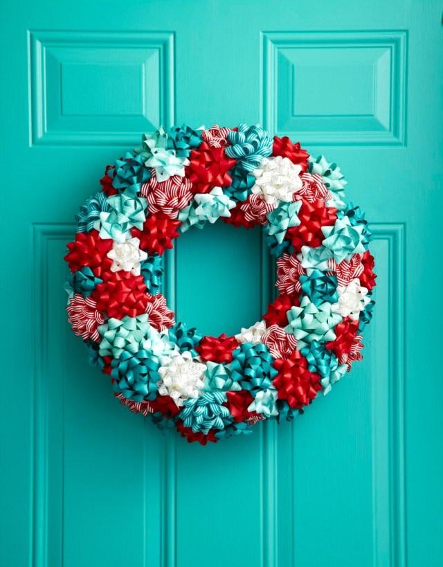 40 Diy Christmas Wreath Ideas How To Make A Homemade