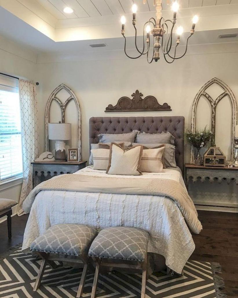 43 Casual Vintage Farmhouse Bedroom Ideas Modern Bedroom