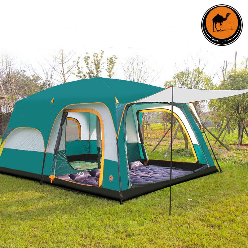 430305200cm 10 12 Person Large Camping Tents Waterproof
