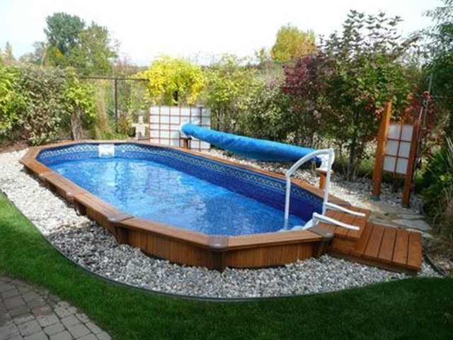 44 Pervect Wood Pool Decks For Above Ground Pool Ideas