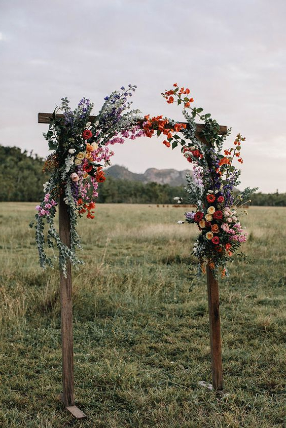 45 Amazing Wedding Ceremony Arches And Altars To Get