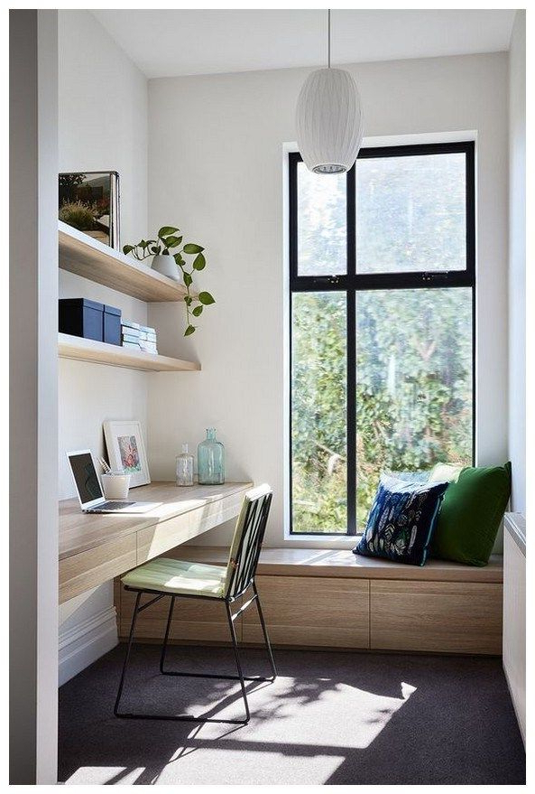 45 Beautiful Home Office Ideas For Small Spaces 44