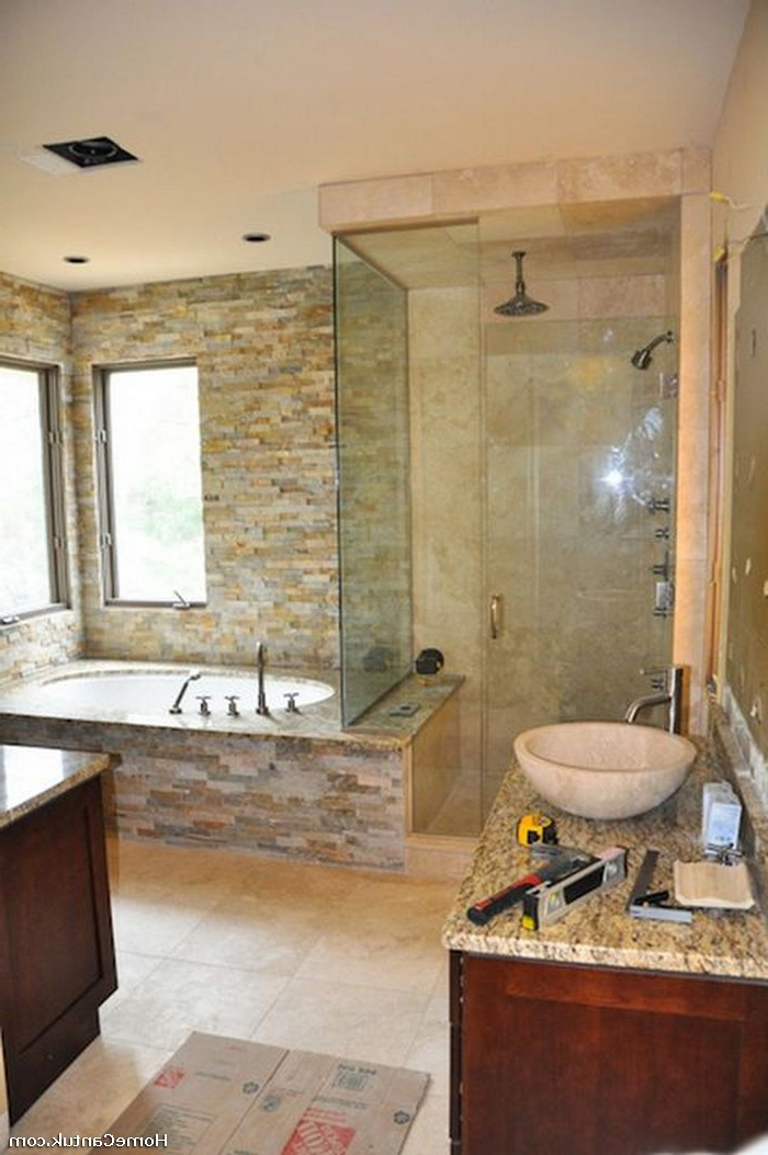 45 Small Master Bathroom Makeover On A Budget