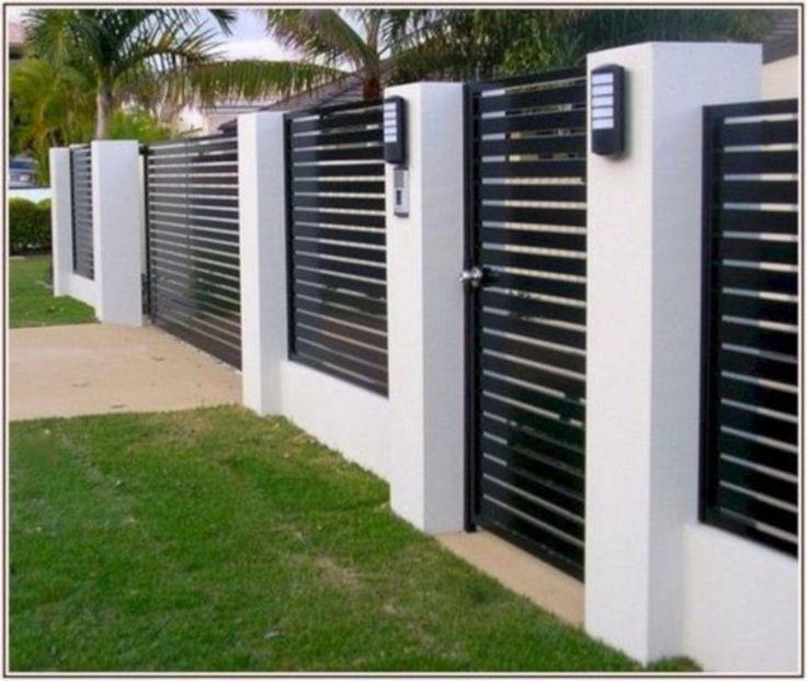 45 Unique Modern Fence Design Ideas To Enhance Your