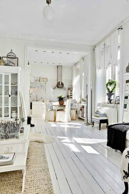 45 Wonderful White Walls Interior Ideas Loombrand