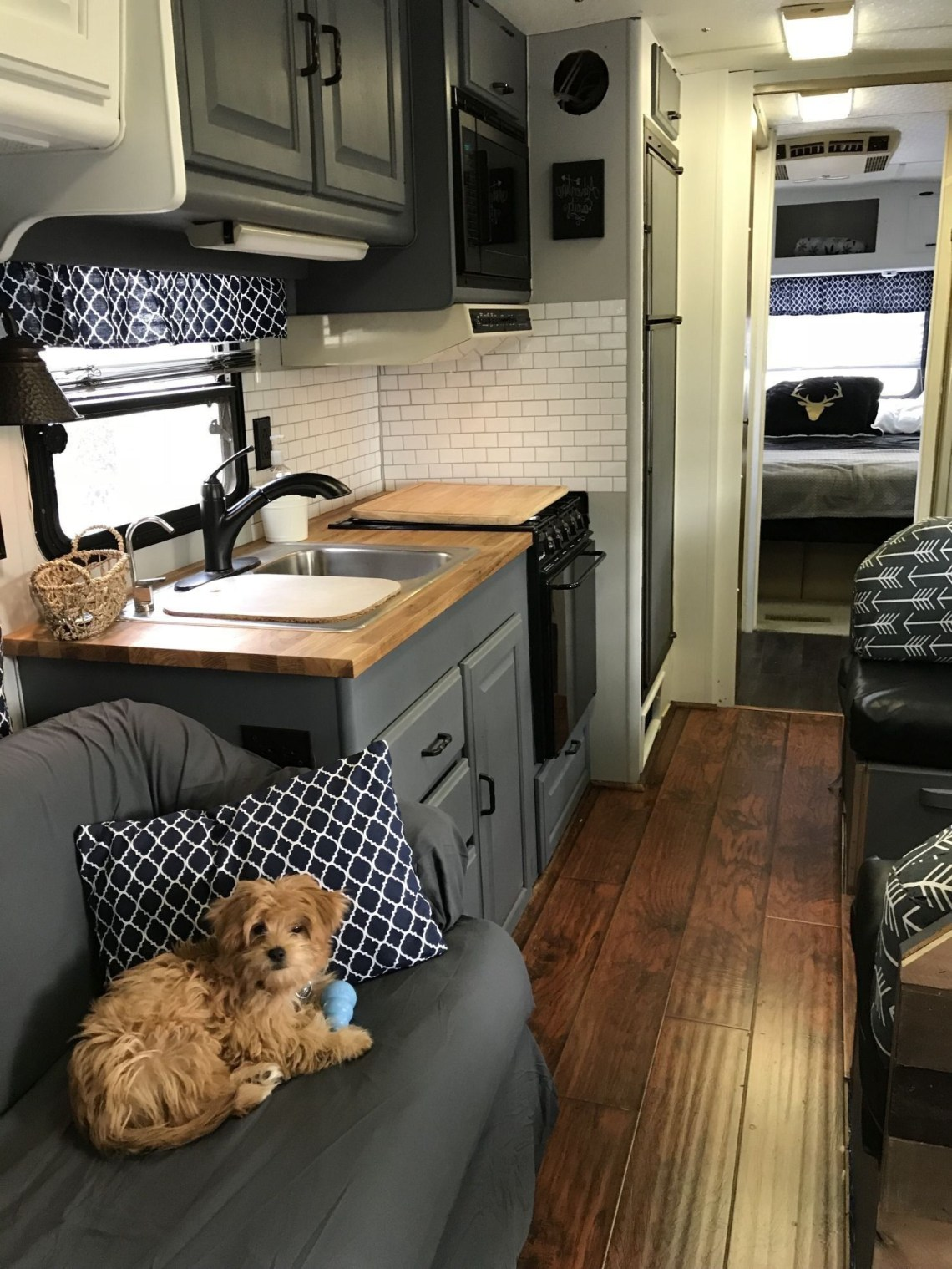 48 Best Rv Camper Interior Remodel Ideas Camper Trailer