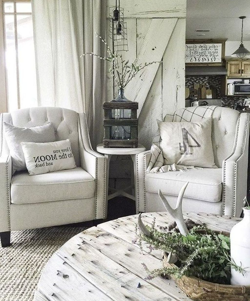 48 Stunning Living Room Design Ideas With Farmhouse Style