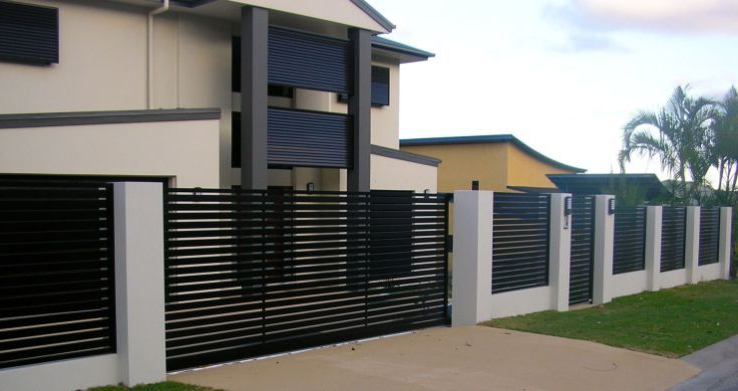 49 Gorgeous Modern Fence Design Ideas To Enhance Your
