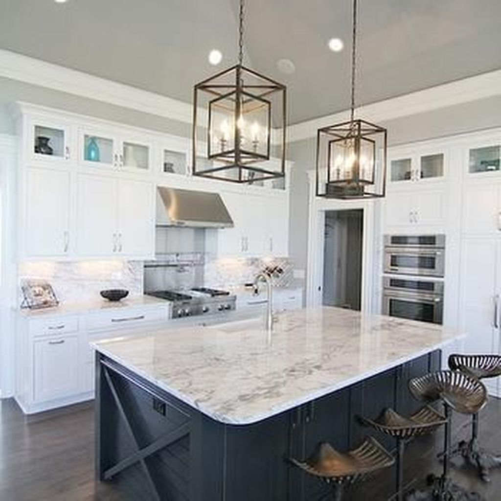 49 Pervect Kitchen Island Decor Design Ideas White