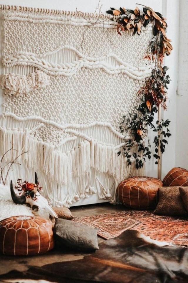 49 Romantic Boho Bedroom Decorating Ideas For Cozy Sleep Southwestern Wedding Decor