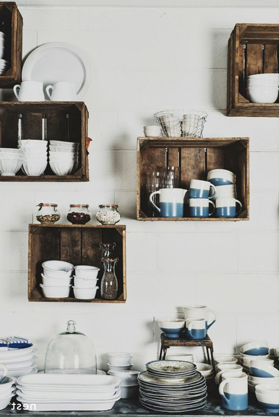 5 Creative Kitchen Storage Ideas You Can Diy Crates