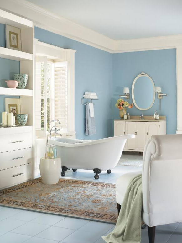 5 Fresh Bathroom Colors To Try In 2017 Hgtvs Decorating