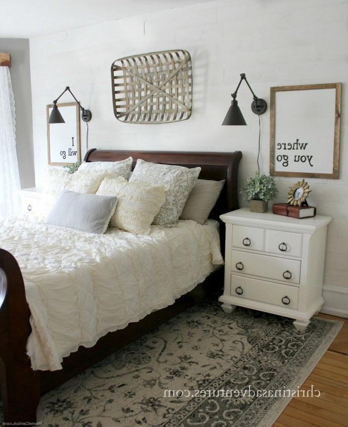 50 Classic And Vintage Farmhouse Bedroom Ideas