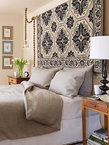 50 Elegant Headboard Ideas For Bedroom Beautification