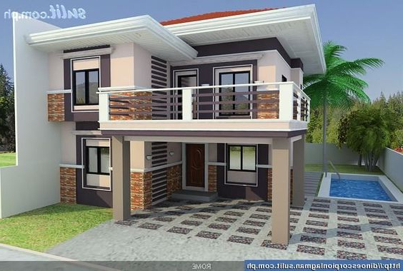 50 Images Of Modern Two Story House Design Bahay Ofw
