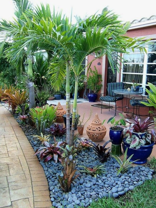 55 Beautiful Rock Garden Ideas For Backyard And Front